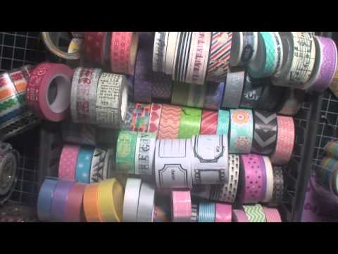 VR to Jen - My Washi Tape Collection