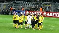 Borussia Dortmund vs. FK Qäbälä - 05.11.2015 - Signal-Iduna-Park - Schlußpfiff - LIVE !!!