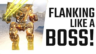 Flanking like a Boss - UAC-10 Huntsman Build - Mechwarrior Online The Daily Dose #817