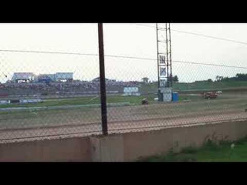 Charter Raceway Park - B Main - Legends 7-26-08