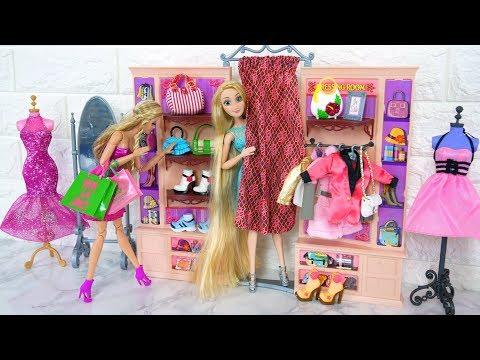 Barbie Clothing Store My Scene Dressing Room playset Putri Barbie Toko Pakaian Boneca Loja de Roupas