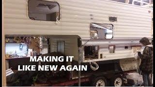 FREE 1999 Elkhorn Camper Update, a rescue to restoration plan