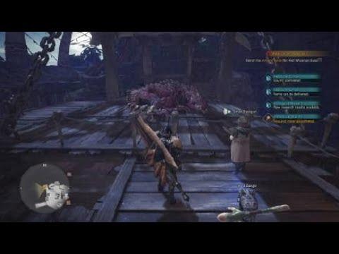 Monster Hunter Worldcapturing Odagaon Switch Axe Gameplay Youtube