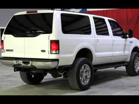 2000 ford excursion limited 7 3l diesel 4x4 lifted custom for sale in magnolia tx youtube. Black Bedroom Furniture Sets. Home Design Ideas