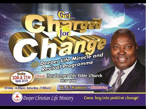 MRP(April Edition) -  CHARGE FOR CHANGE (April 20-21, 2018)