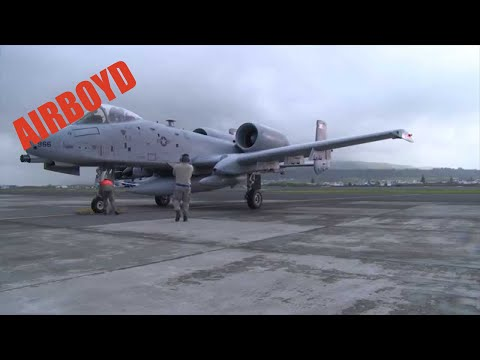 A-10s Arriving At Lajes Field