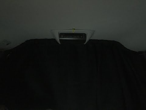 Minivan Camper Conversion- Stealth Front Curtain Rod