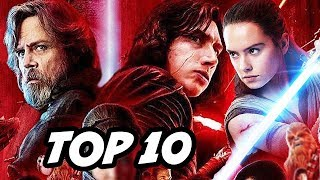 Star Wars The Last Jedi TOP 10 WTF Questions - Snoke, Luke Skywalker, Rey's Parents