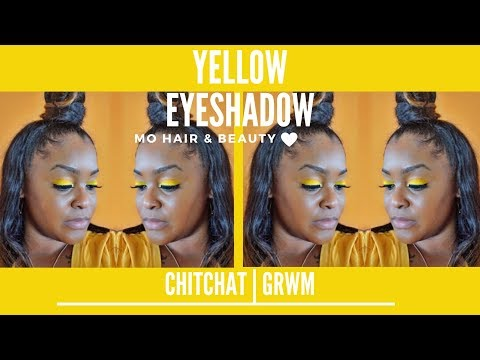 Fall Canary Yellow Eyeshadow | Chit Chit | #GRWM thumbnail