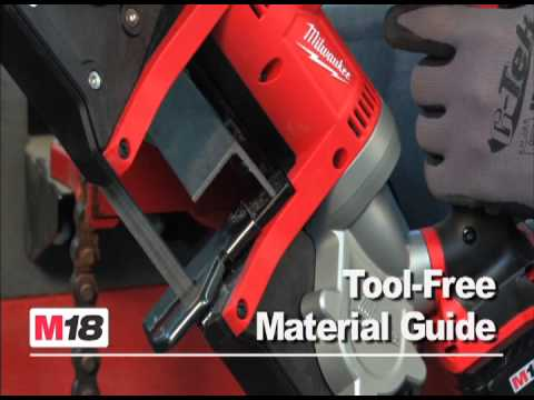 milwaukee m18 cordless lithiumion band saw kit model