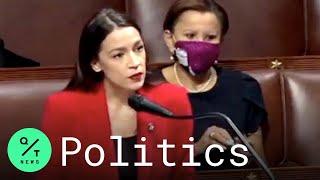 Alexandria Ocasio-Cortez Responds to Ted Yoho's Apology on the House Floor