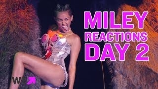 More Miley Cyrus' VMA Parody Reactions | What's Trending Now