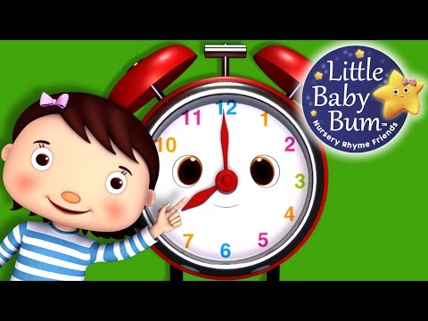 telling time song what time is it nursery rhymes original song by littlebabybum