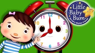 Telling Time Song | What Time Is It? | Nursery Rhymes | Original Song by LittleBabyBum