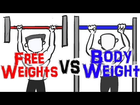 Free Weights vs Bodyweight Exercise