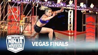 Jessie Graff at the Vegas Finals: Stage 1 | American Ninja Warrior
