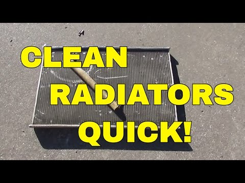 How To Clean Radiators for Scrap Brass & Aluminum Metal Cash - Make Money Scrapping Metal 12-28-16