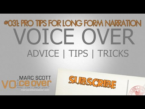 Pro Tips for eLearning and Long Form Narration Voice Over