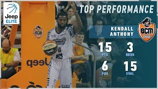 Kendall Anthony 15PTS, 6AST vs Le Portel | Highlights Jeep® ÉLITE