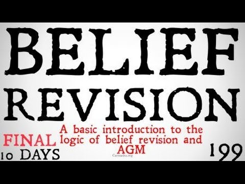 Belief Revision Logic (AGM Basics)