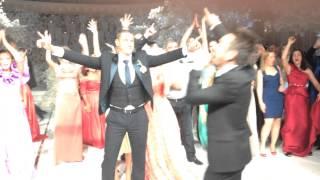 Зажигательные танцы на свадьбе Ксении Бородиной
