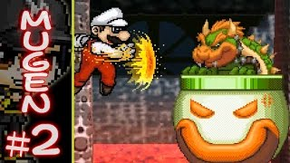 SS117 M.U.G.E.N: Super Mario (Me) vs. King Bowser Koopa (CPU Boss)