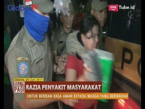 Satpol PP Jaring PSK Di Jl. Kali Sekertaris Grogol - BIP 20/06