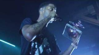 Kid Cudi at the HIGH TIMES Medical Cannabis Cup in Denver