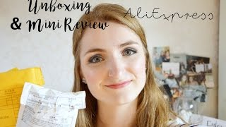 AliExpress Unboxing & Mini Review | Life of Joyce
