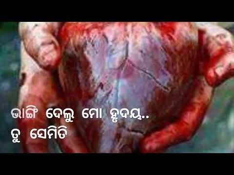 Tu Jemiti Bhangi Delu Mo Hrudaya (bhanga Hrudaya ) Odia Whatsapp Status Vidio