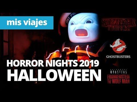¡Halloween Horror Nights 2019 en 2 horas! Stranger Things & Ghostbusters ¿Da tiempo?
