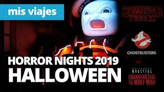 Halloween Horror Nights 2019: Stranger Things & Ghostbusters ¿Novedades en 2 horas?