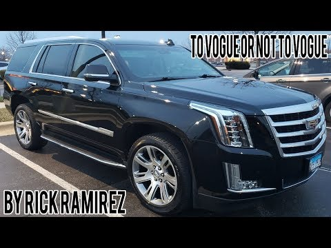 To Vogue Or Not To Vogue Tires Tyres Cadillac Escalade Video