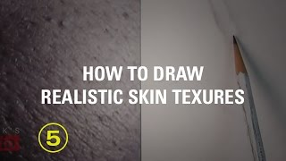 Draw Realistic Skin Texture (touchable Textures #1)