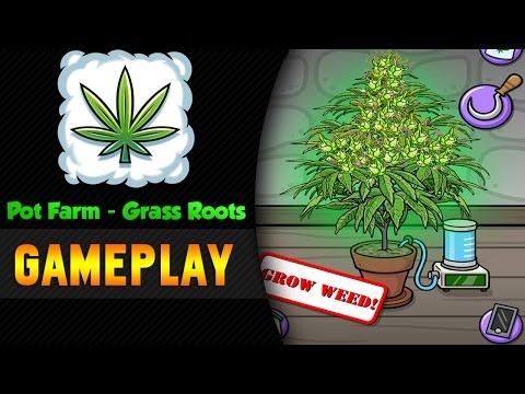 Pot Farm - Grass Roots ► Baue deine eigene Hanf Farm!  | Android Gameplay Deutsch