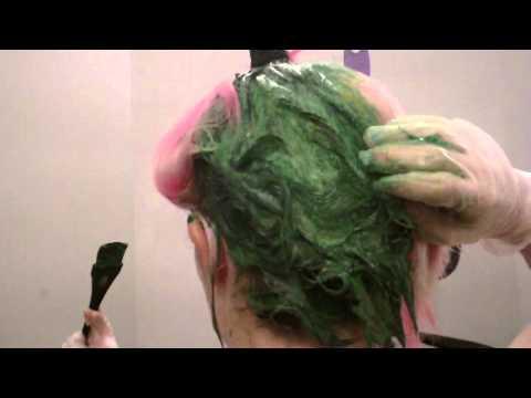 Iguana Green Hair!