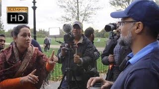 P1 Must Watch All Religions Are Equal Hashim vs Atheist l Speakers Corner l Hyde Park