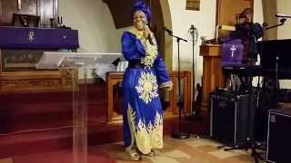 EV. MIREILLE MITAMBA IN DENVER, AT COME TO JESUS MINISTRY