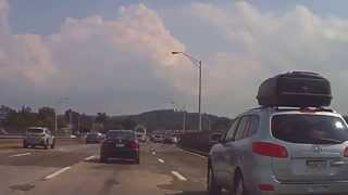 Driving Tappan Zee Bridge East Bound (interstate 287 E / Interstate 87 S)