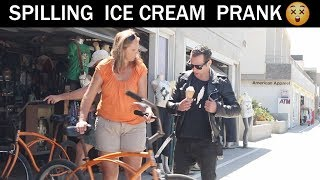 Awkward ice cream Prank 🍦😂- julien Magic