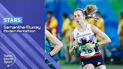 Team GB Modern Pentathlon Star Samantha Murray | Trans World Sport