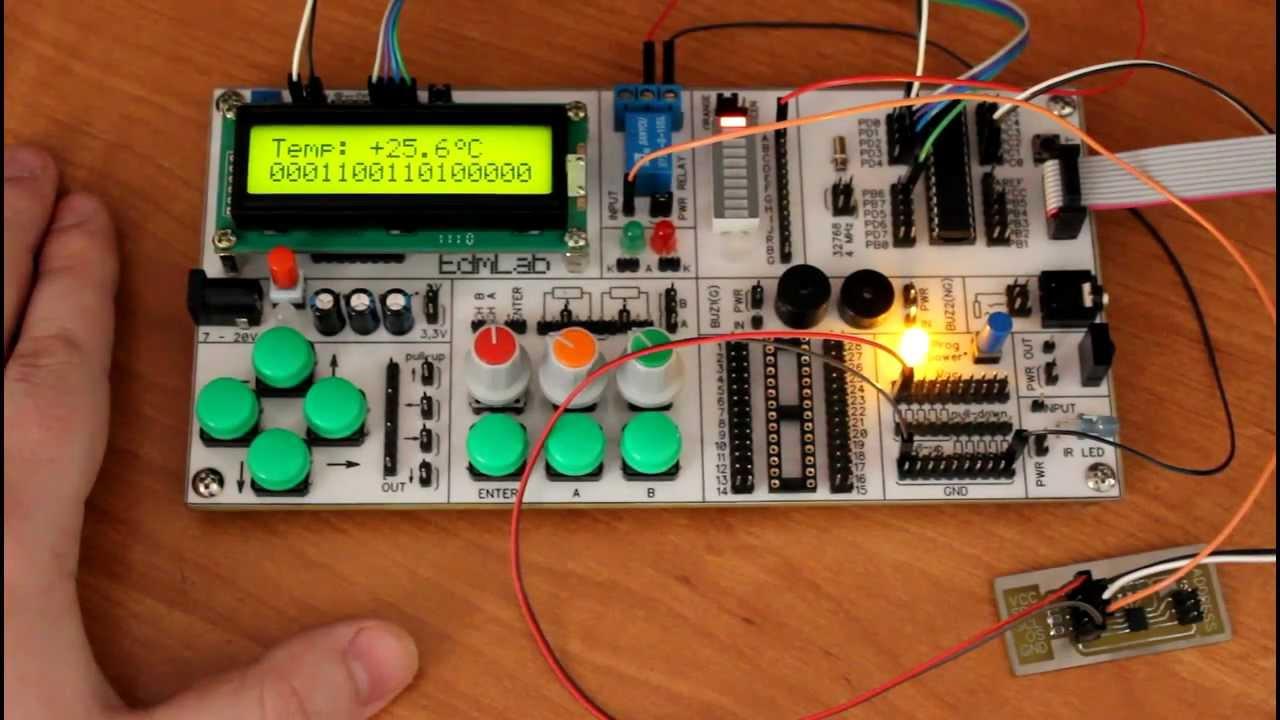 h схема термостата на атмега8