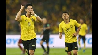 Malaysia - Thailand highlights in Bukit Jalil