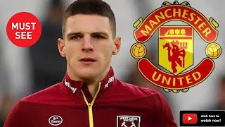 Declan Rice ⚽ Welcome to Manchester United? 🎥 Tackles, Passes, Interceptions 🔴