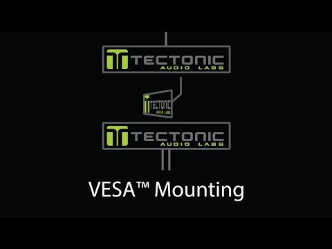 Tectonic How - To video for VESA Mounting Panels