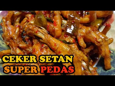 Cara Memasak Ceker Ayam Setan Super Pedas