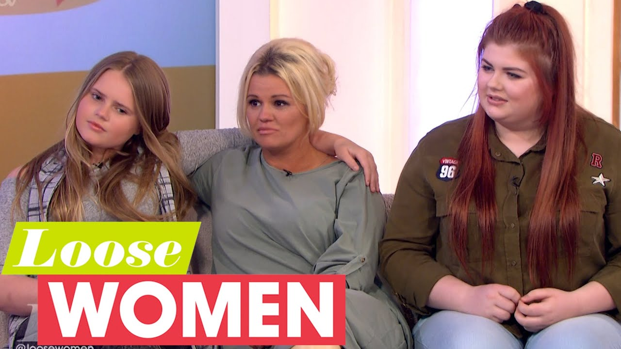 Kerry Katona Gets Emotional When Her Daughter's Talk About
