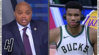 Giannis on Charles Barkley Predicting the Bucks to Make the Finals | April 22, 2021