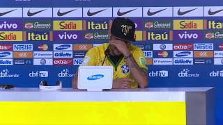 Neymar weint: