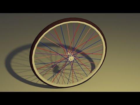 Modeling a Bicycle Wheel in Blender